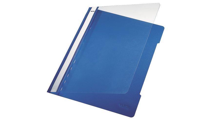 LEITZ Schnellhefter A4 blau