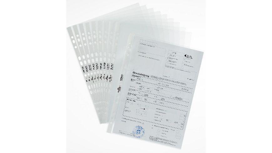 DURABLE Prospekthuelle Premium A4 glasklar 10 Stueck
