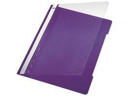 LEITZ Schnellhefter A4 violett