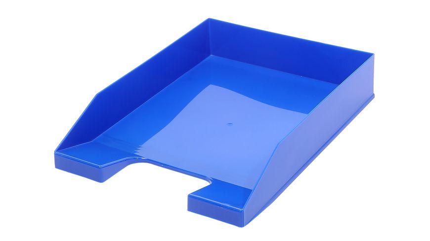 Metzger Mendle Ablagekorb A4 blau