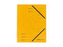 herlitz Jurismappe Colorspan A4 gelb