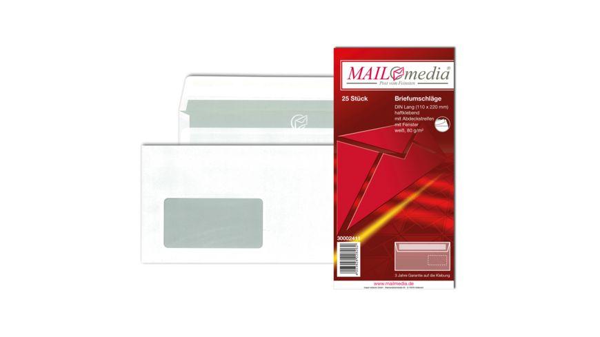 TORGAU Briefumschlag mit Fenster DIN lang haftklebend weiss