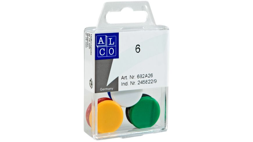 ALCO Magnete 24mm 6 Stck