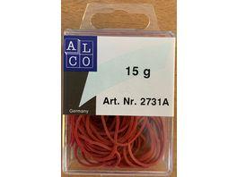 ALCO Gummibaender 15g klein