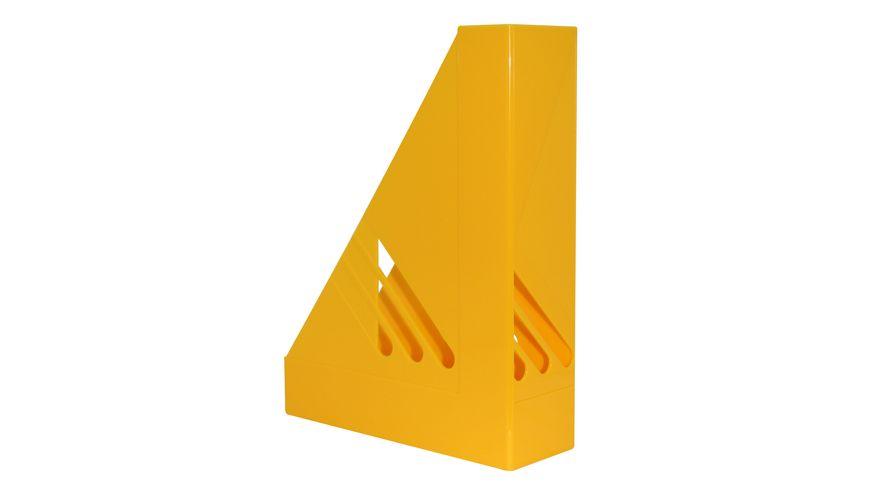 Metzger Mendle Stehsammler A4 gelb