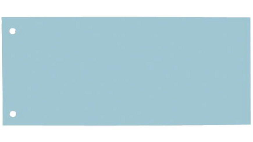 Trennstreifen 100 Stueck hellblau