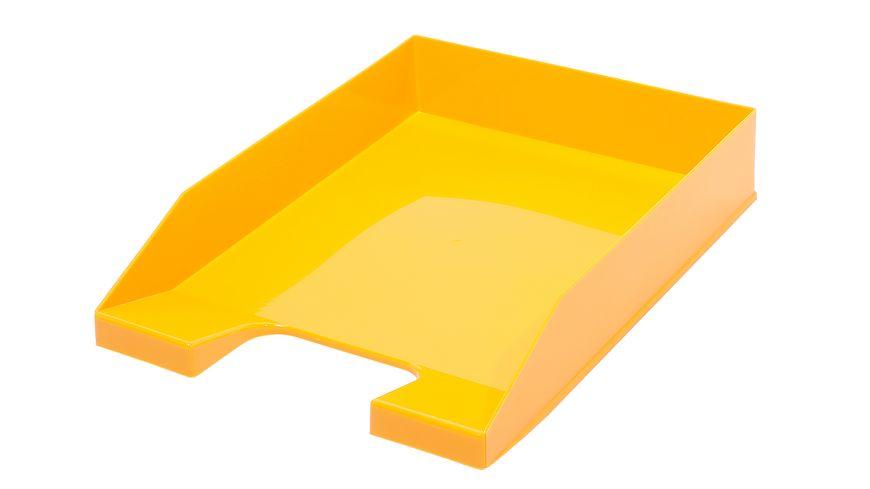 Metzger Mendle Ablagekorb A4 gelb