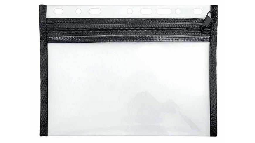 VELOBAG Utensilientasche mit Reissverschluss A5 schwarz