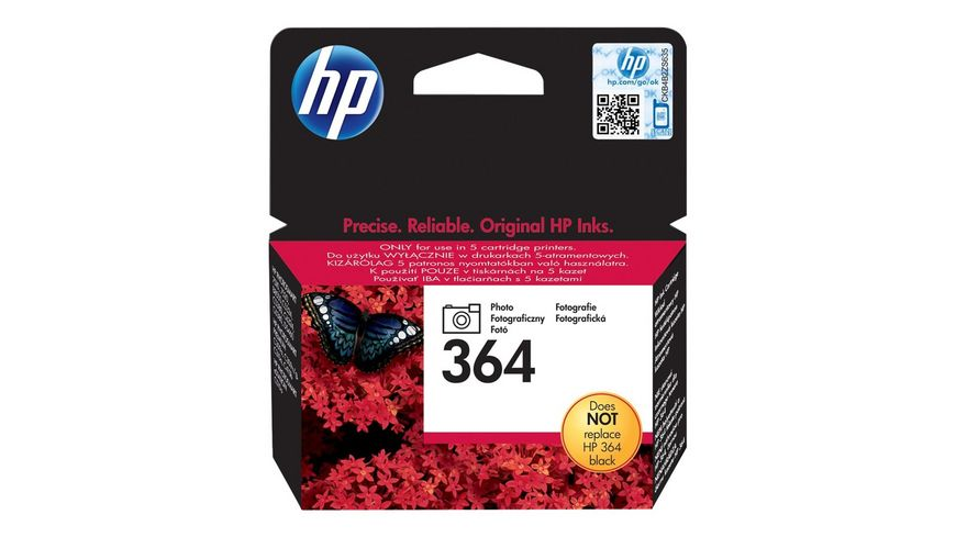 HP Druckerpatrone 364 photoschwarz