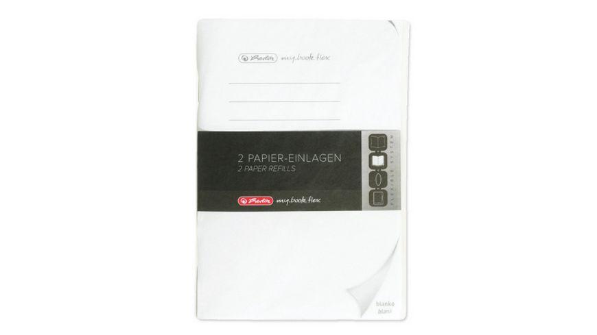herlitz my book flex Notizheft Refill A6 2x40Blatt blanko