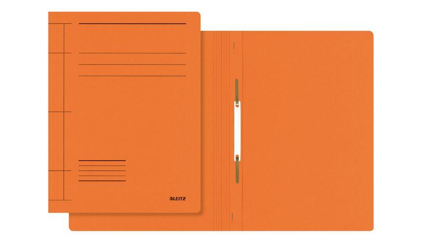 LEITZ Pappschnellhefter A4 orange