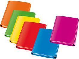 VELOFLEX Heftbox VELOCOLOR A4 sortiert in Trendfarben