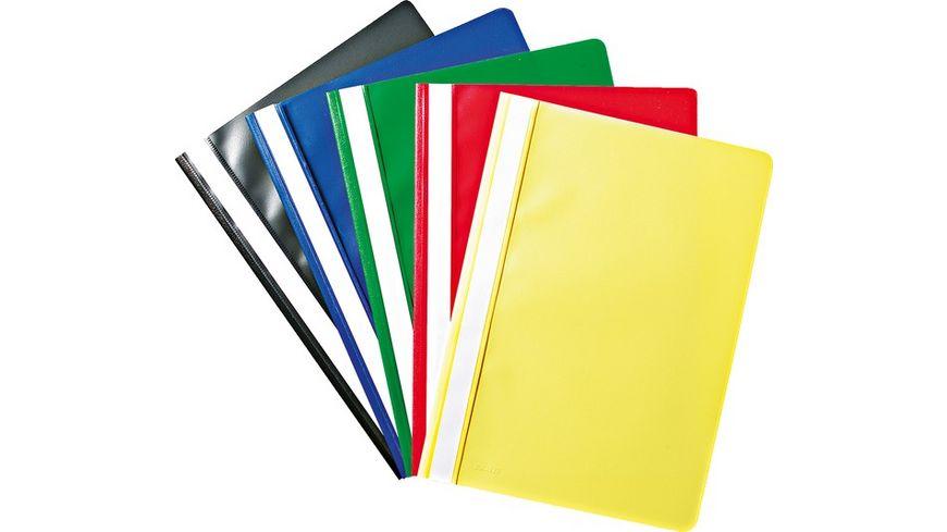 STYLEX Schnellhefter 10er Pack farblich sortiert