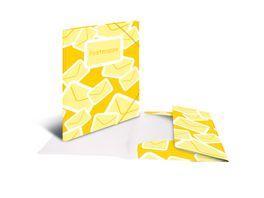 herlitz Gummizugmappe easy orga to go A4 PP Postmappe transparent gelb