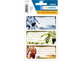 VARIO Schuletiketten Fussball
