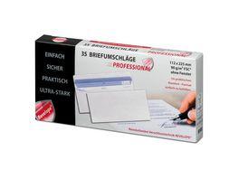 TORGAU Briefumschlag REVELOPE 11 2 x 22 5cm weiss