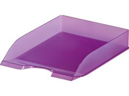DURABLE Ablagekorb A4 transluzent lila