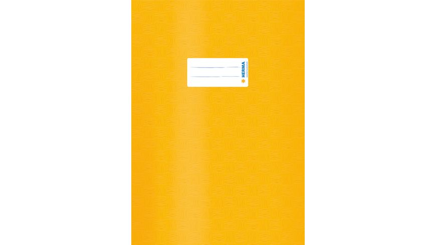 HERMA Hefthuelle A4 gedeckt gelb