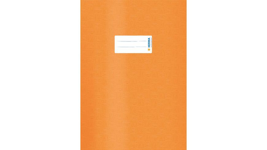 HERMA Hefthuelle A4 gedeckt orange