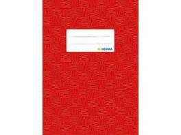 HERMA Hefthuelle A5 gedeckt rot