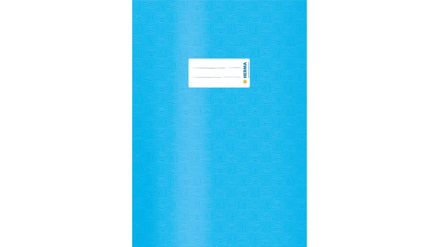 HERMA Hefthuelle A4 gedeckt hellblau