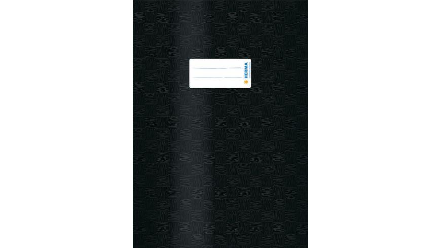 HERMA Hefthuelle A4 gedeckt schwarz