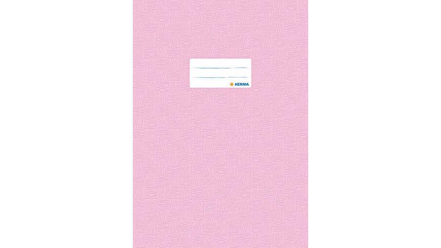 HERMA Hefthuelle A4 gedeckt rosa