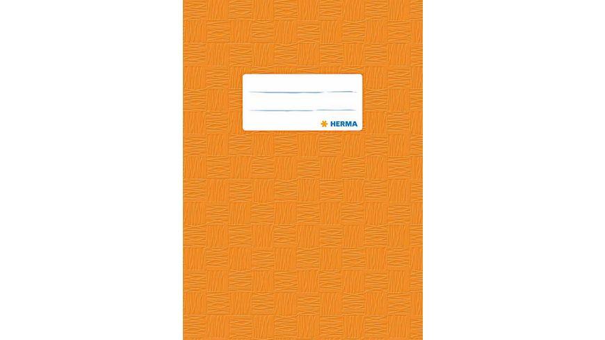 HERMA Hefthuelle A5 gedeckt orange