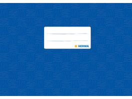 HERMA Hefthuelle A5 gedeckt blau quer fuer Notenheft