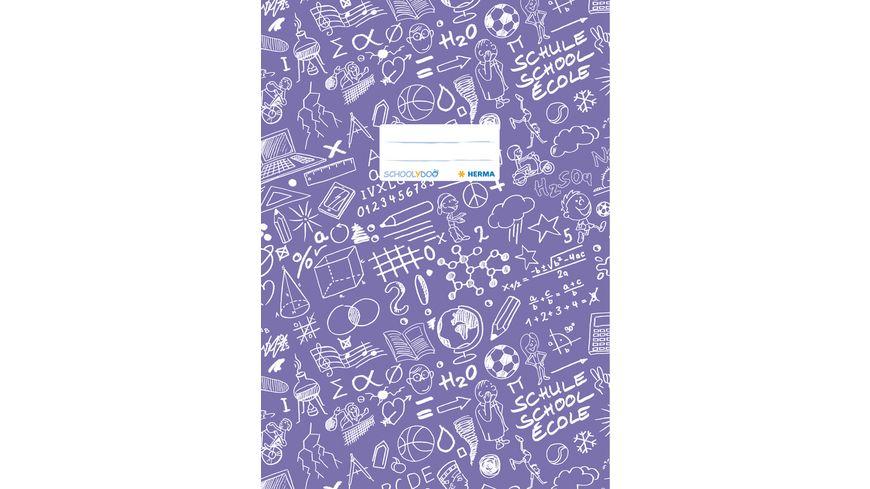 HERMA Heftschoner A4 SCHOOLYDOO violett
