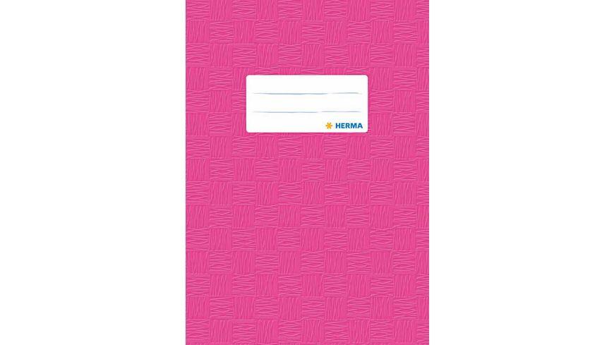 HERMA Hefthuelle A5 gedeckt pink