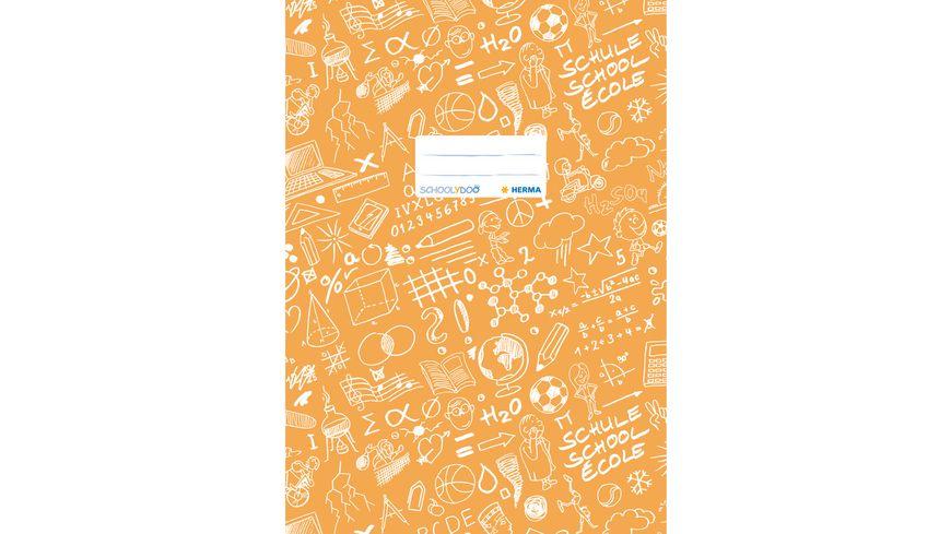 HERMA Heftschoner A4 SCHOOLYDOO orange