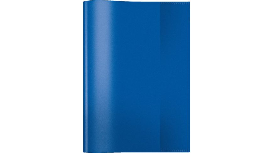 HERMA Hefthuelle A5 transparent blau