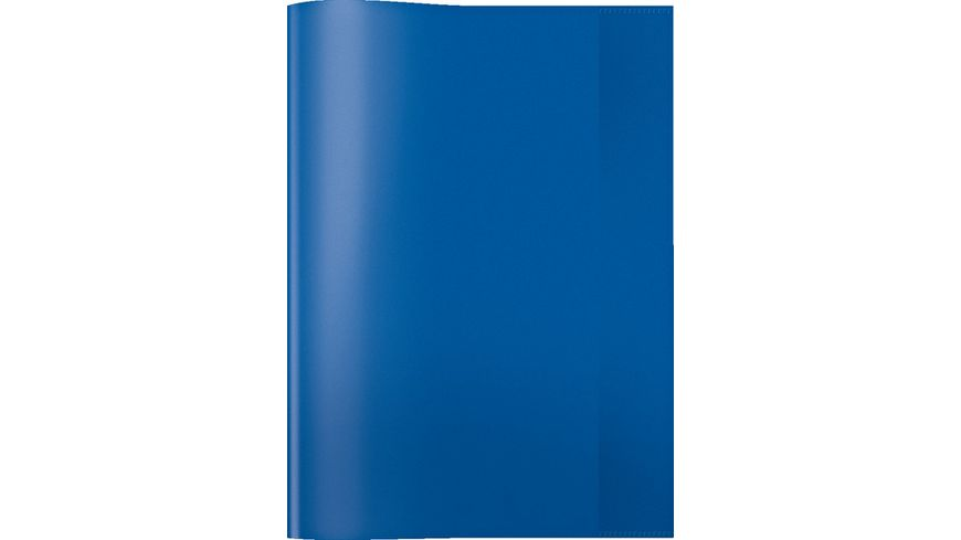 HERMA Hefthuelle A4 transparent blau
