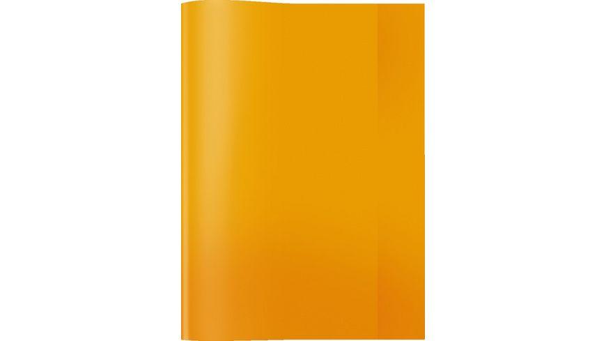 HERMA Hefthuelle A4 transparent orange