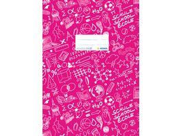 HERMA Heftschoner A4 SCHOOLYDOO pink