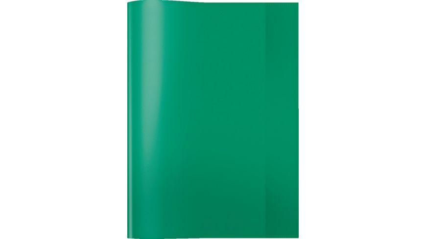 HERMA Hefthülle A4 transparent grün
