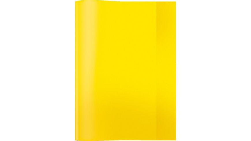 HERMA Hefthuelle A4 transparent gelb