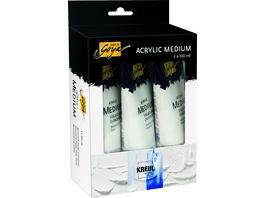 SOLO GOYA Acrylic Medium 3er Set
