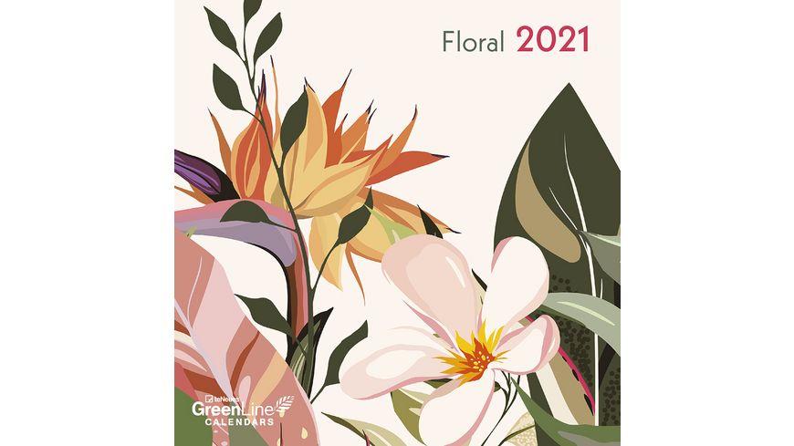TE NEUES Kalender 2020 Floral