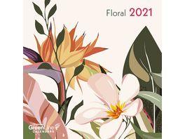 TE NEUES Kalender 2021 Floral