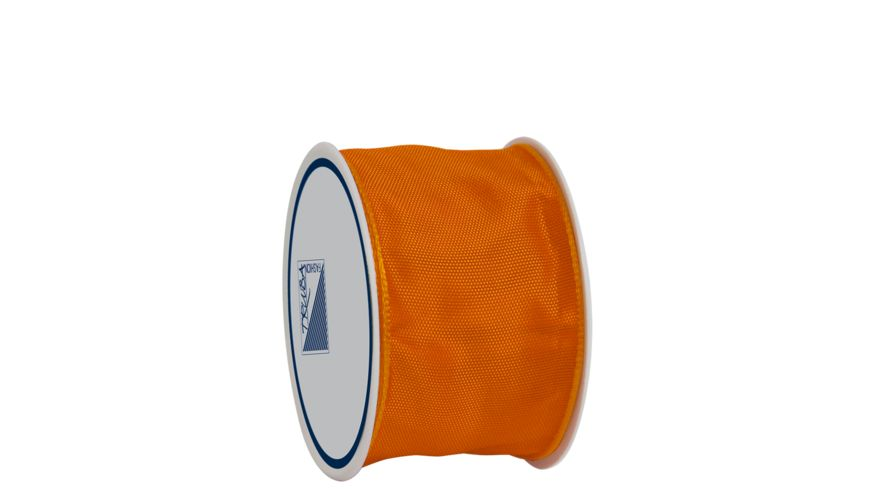 TRUBA Drahtkantenband auf Rolle 40mm x 3m orange