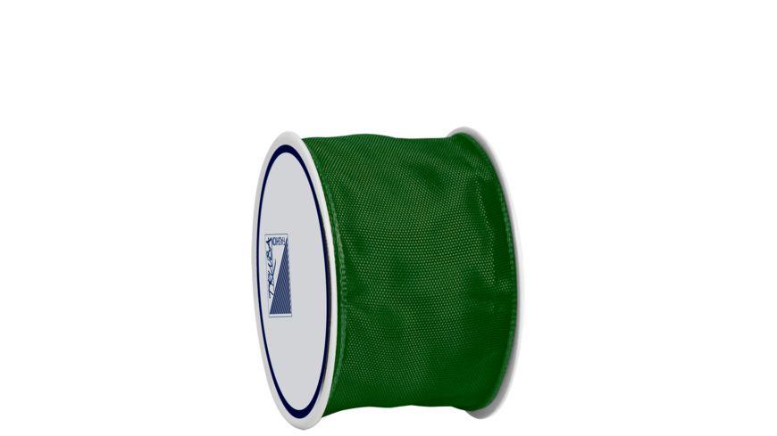 TRUBA Drahtkantenband auf Rolle 40mm x 3m grün