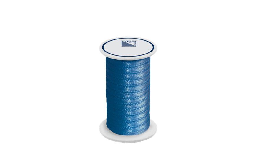TRUBA Doppelsatinband auf Rolle 3mm x 5m blau