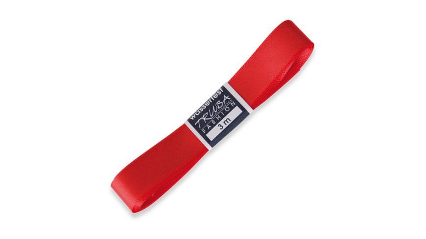 TRUBA Seidenband Trend 15mm x 3m Straengchen rot