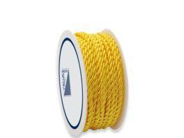 TRUBA Baumwollkordel gelb 3mm x 5m