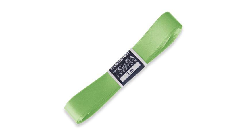 TRUBA Seidenband mit Webkante apfelgrün