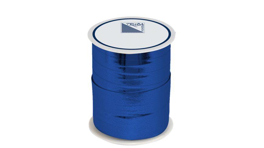 TRUBA Spiegelglanzband 10mm x 50m uni blau