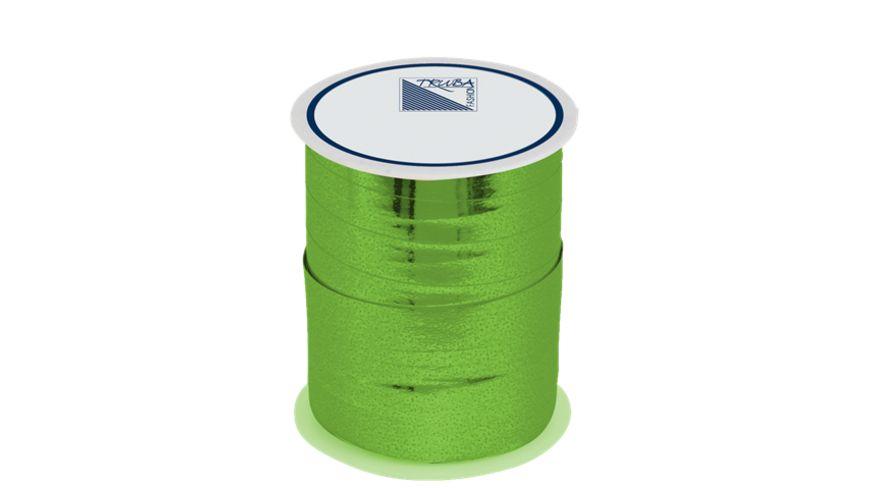 TRUBA Spiegelglanzband 10mm x 50m uni gruen