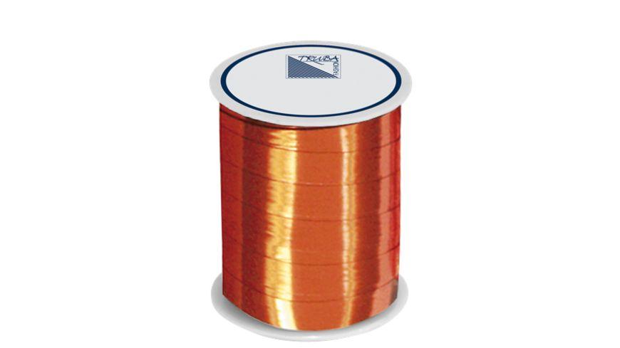 TRUBA Spiegelglanzband 10mm x 50m uni orange